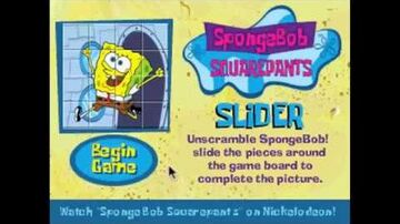 SpongeBob SquarePants Slider - Full Game