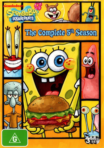 File:SpongeBob The Complete 5th Season Australian DVD.jpg