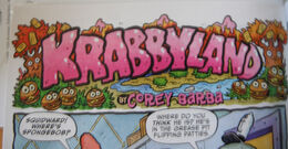 Krabbyland comic strip