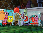 Sandy, SpongeBob, and the Worm 049