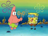 SpongeBob and Patrick Jellyfish Pineapple