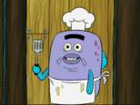 The Flabby Patty fry cook