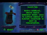 Sleepy Time robot