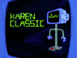 SpongeBob SquarePants Karen the Computer Classic
