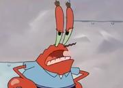 Krabs stares at ya