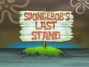 SpongeBob's Last Stand title card