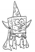 SpongeBob Movie Wizard SpongeBob Storyboard 1