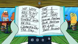 Spongey
