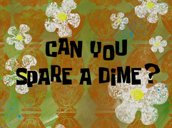 Can You Spare a Dime? title card
