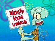 Krusty krab unfaired