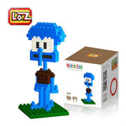 LOZ Diamond Blocks Nano Building Squidward