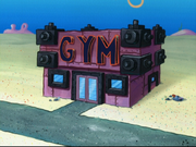 Bikini Bottom Gym