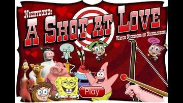 Nicktoons A Shot at Love ! Fun Game for Kids in English Nickelodeon Nick Jr