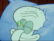 Squidward Gets The Worm 001
