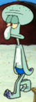 Squidward Wearing a Swim Suit3