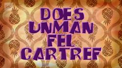 Does Unman Fel Cartref