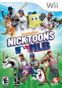 Nicktoons MLB Box - Wii (NA)