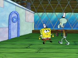 Restraining SpongeBob 024