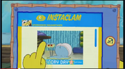 SpongeBob Checks His Instaclam 04