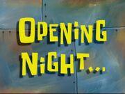 Openingnight
