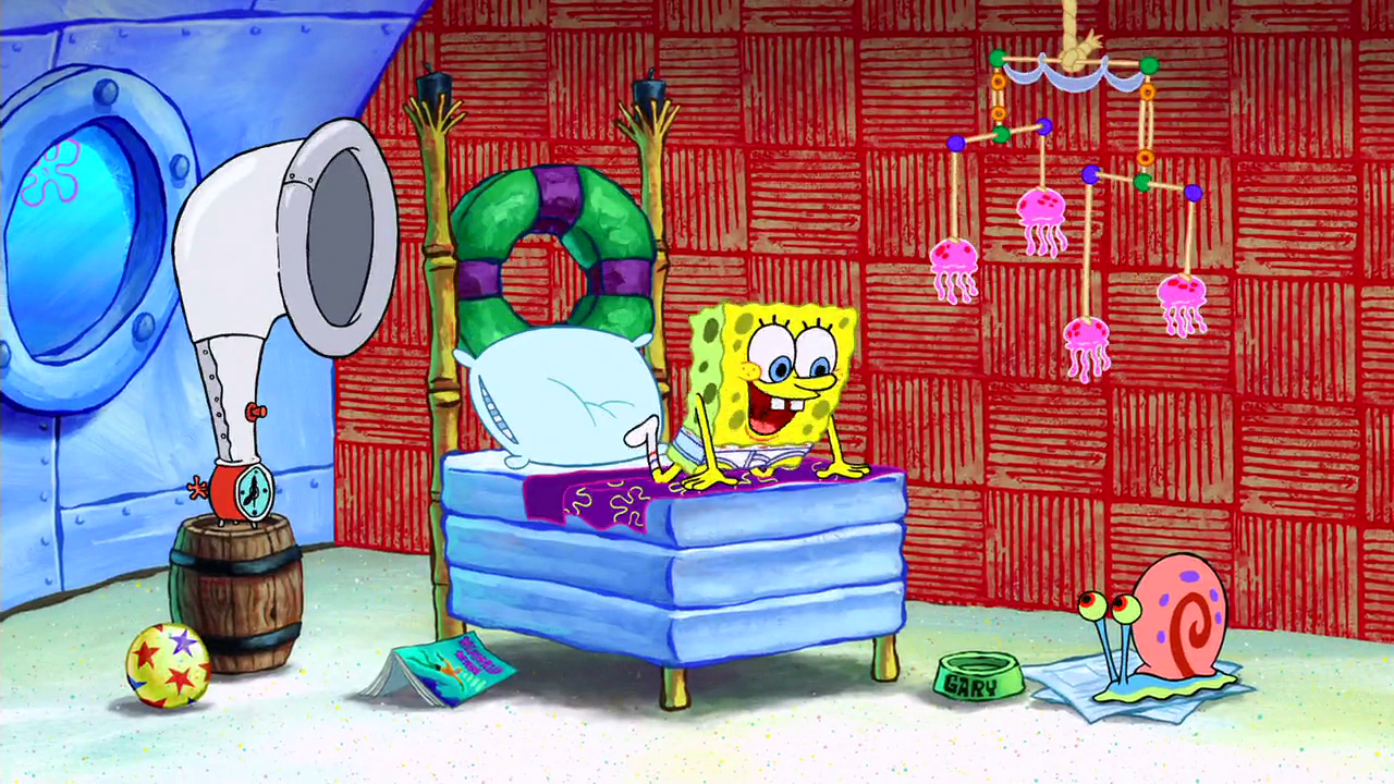 Spongebobs Bedroom  Png