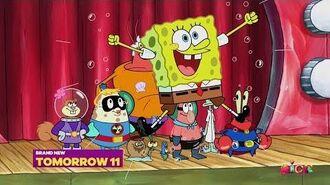 """SpongeBob SquarePants - """"Sunday SpongeDay"""" (New Episodes!) Promo - USA (Oct. 2018)"""