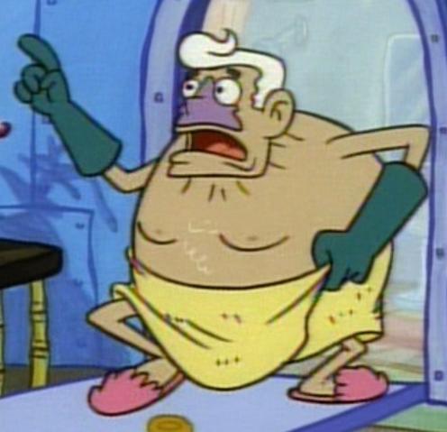 File:Mermaid Man Wearing a Towel.png