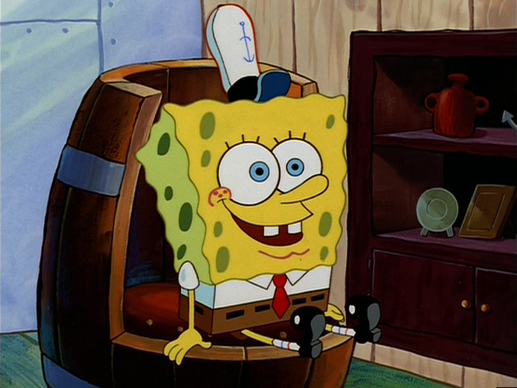 File:SpongeBob Liking The Boots.png