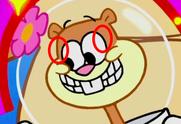 Sandy missing eyelashes