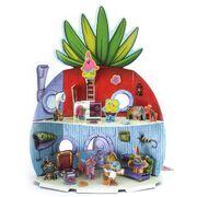 Shrinky Dinks pineapple house playset