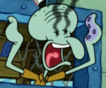 Eyeless Squidward