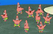 Mini Patrick Star in CopyBob DittoPants