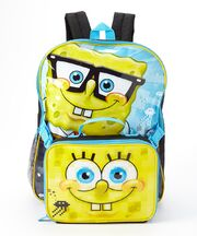 SpongeBob backpack and lunch box set