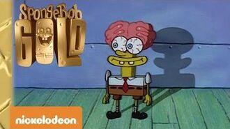 Spongebob Gold Halloween coi fantasmi Nickelodeon