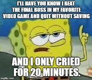 Criedfor20minutes