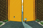 Squidville door open