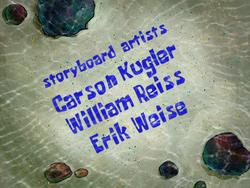 Erik Weise error in Club SpongeBob