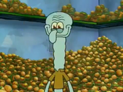 SquidwardLongNeckHappy