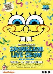 SpongeBobLiveShow poster
