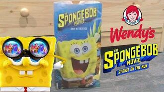 The SpongeBob Movie Sponge On The Run Wendy's Bag Review