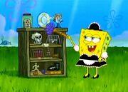 House Sittin' for Sandy - SpongeBob