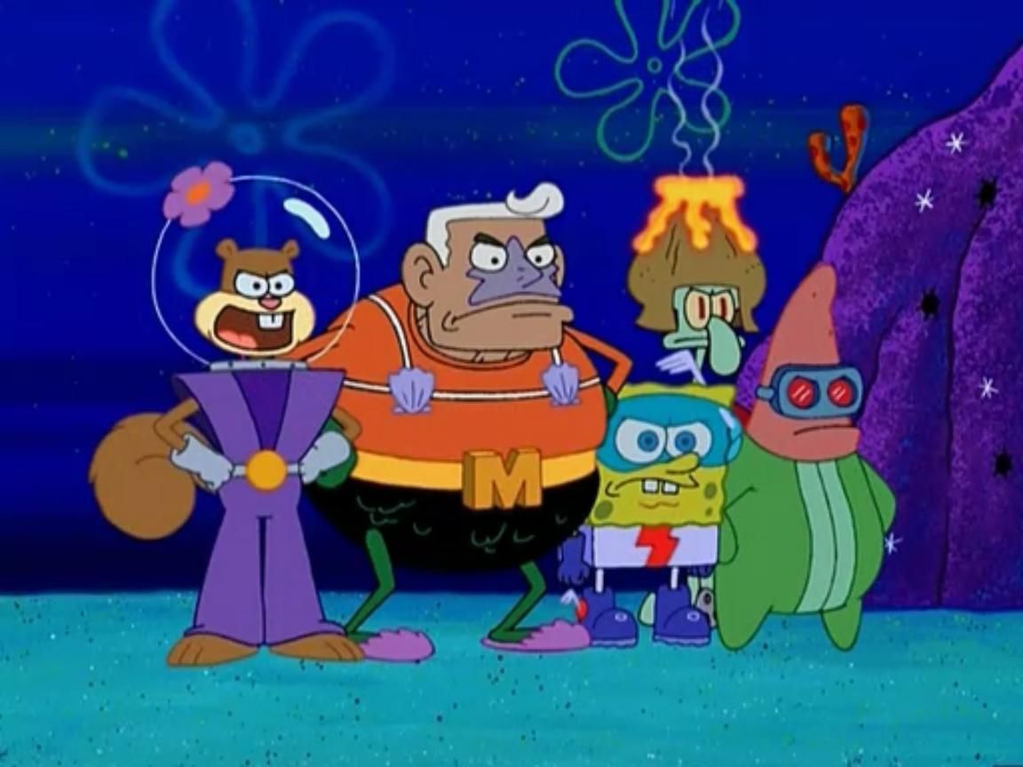the adventures of mermaid man and barnacle boy encyclopedia