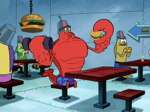 File:Larry the Lobster in The SpongeBob SquarePants Movie-1.png