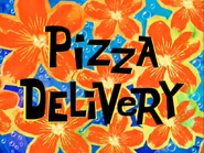 Pizza Delivery (Title Card)