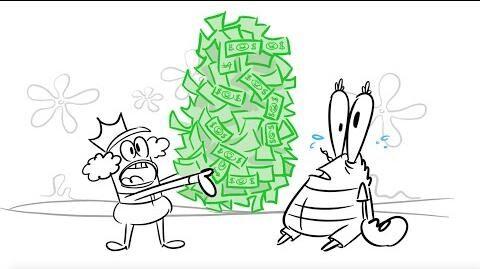 SpongeBob SquarePants Storyboard - The Krusty Slammer