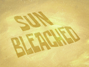 Sun Bleached title card