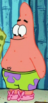 Patrick Wearing Slippers
