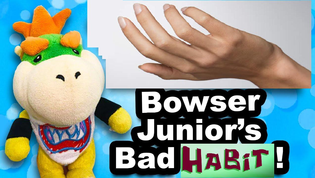 Bowser Junior's Bad Habit!
