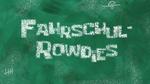 Fahrschul-Rowdies