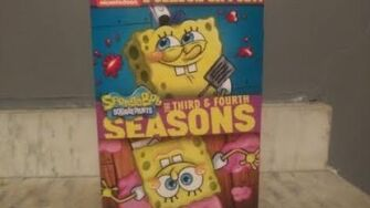 SpongeBob SquarePants The Third & Fourth Seasons DVD Unboxing